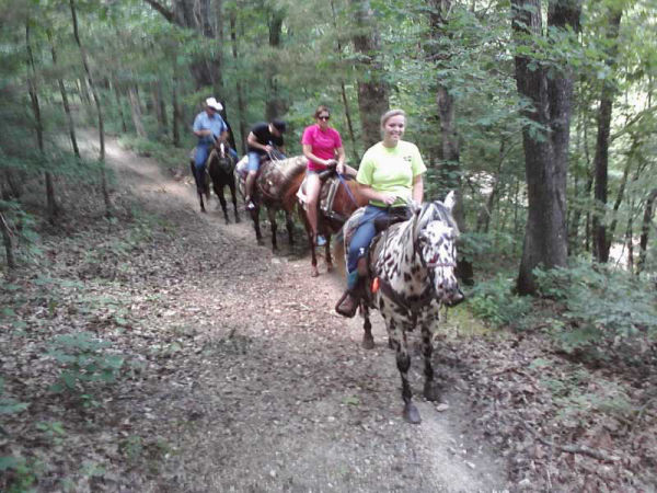 Bear Creek Trail Ride Features